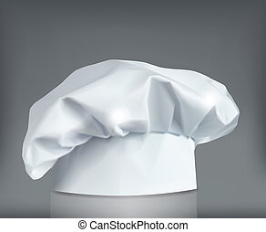 Cooking cap. Vector