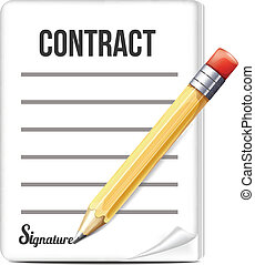 Contract with Pencil