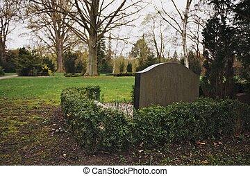 Empty Cemetery