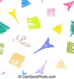 Seamless Paris Textures