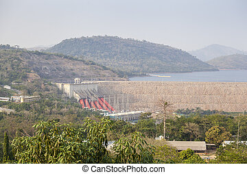 Akosombo power station supplies with energy almost whole...