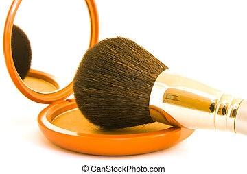 Face Powder with Brush
