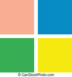 Set of backgrounds in a vertical strip - vector set of four...