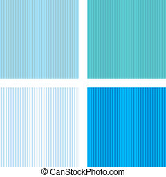 vector set of four Set in a vertical strip - vector set of...