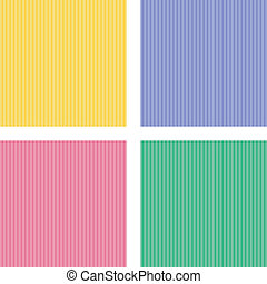 vector set of four different pattern - vector set of four...
