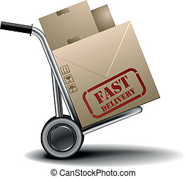 fast delivery handtruck