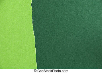 Green Paper Texture - A Light and Dark Green Paper Texture,...