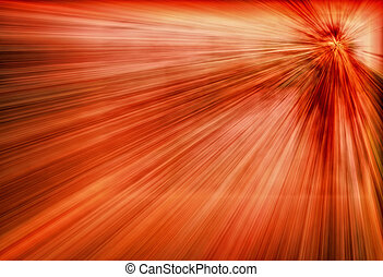red flash - Abstract background with red flash