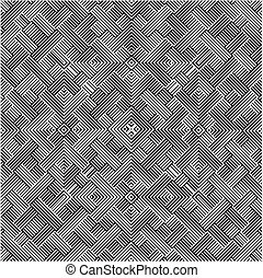 Ornamental Seamless Stripes Pattern