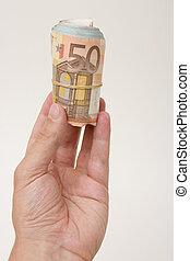 money finances - Conceptual to savings, success and money....