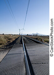 Rail road tracks - Spain