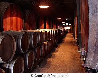 Wine Celler - Ancient Wine Celler production cave