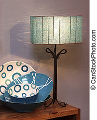 Interior Decoration - Decoration lamp with design pottery...