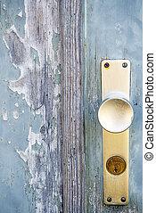 Alte T?r - Old door with lock