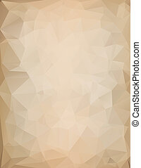 triangle bckground - triangular background reminiscent of...