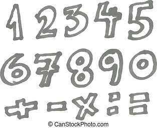 Marker numbers