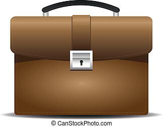Brown business bag,briefcase