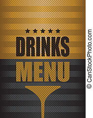 drinks menu background