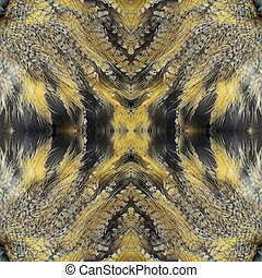 seamless pattern - Seamless pattern made from Eurasian Eagle...