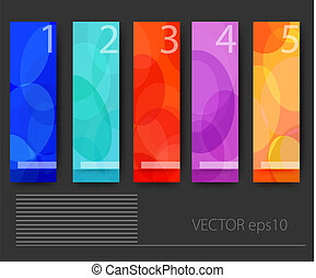 vector Infographic flat design