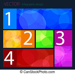 vector Infographic flat design