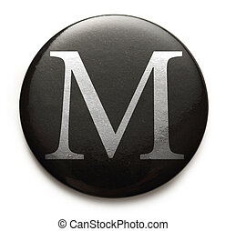 Latin letter M - Single capital latin letter M
