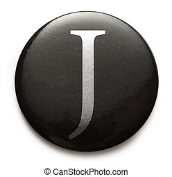 Latin letter J - Single capital latin letter J