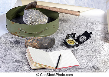 geological expedition - The geological expedition is...