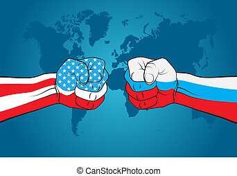 USA versus Russia - USA-Russia relations