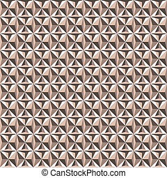 Triangle seamless pattern light brown beige colors