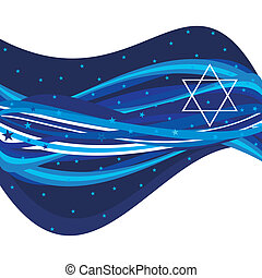 Abstract Israeli Header - An abstract illustration of an...