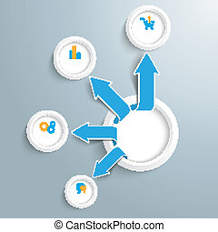 Outsourcing Infographic Circle