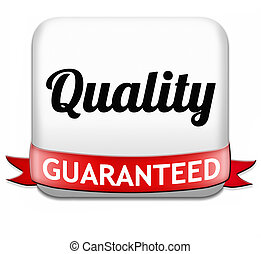 qualiy guaranteed - Quality control label 100 guaranteed...