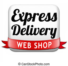 express delivery web shop - express delivery package...