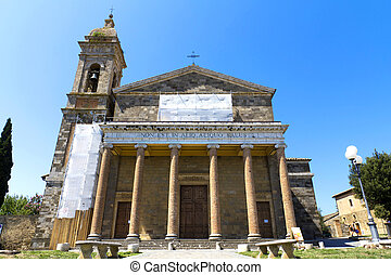 Montalcino - Italian church in Montalcino, Toscana