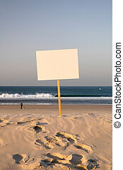 sell beach - beach sign ready for rent, holliday, sold, you...