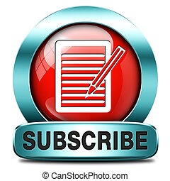 subscribe button - Subscribe here online free subscription...