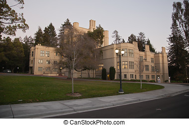 universidad, California, Berkele