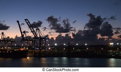 Bahamas - Freeport, Industrial Port - Bahamas - Freeport -...