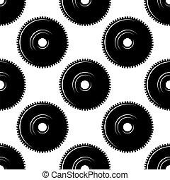Pinions seamless pattern