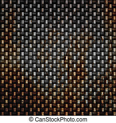 Rusty Carbon Fiber - A rusted and grungy looked carbon fiber...