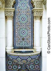marroquí, pabellón