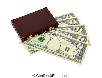 Business profits money zero value - Money in the form of...