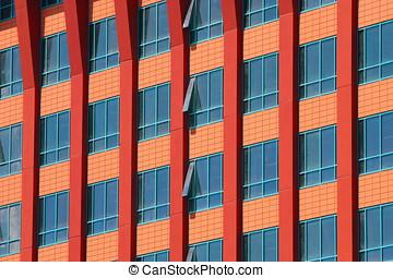 建築物,  Windows, 現代, 玻璃, 很多