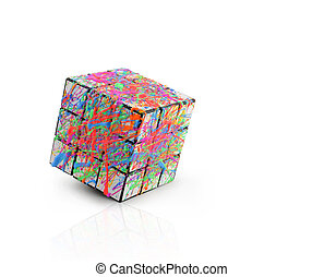 Creativity Cube - This altered Rubiks Cube inspires...