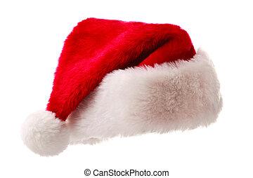 Santa hat isolated on white