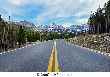 Colorado Destination. Rocky Mountain National Park Scenic...