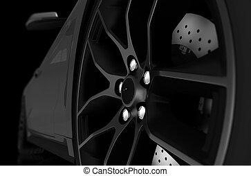 Alloy Wheel Closeup