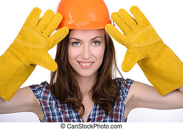 Female builder