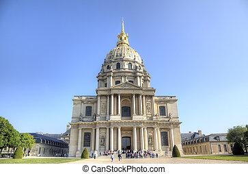 Les Invalides. Paris, France